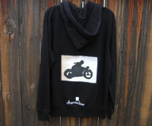 Motorcycle Symbol Men's Dharma Bum Organic Cotton Sweatshirt/Hoodie