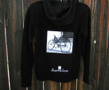 Bike (Bicycle) Men's Dharma Bum Organic Cotton Sweatshirt/Hoodie