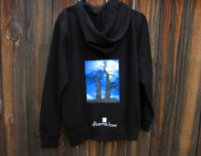Snags above Tahoe Men's Dharma Bum Organic Cotton Sweatshirt/Hoodie