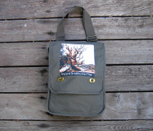 Ancient Bristlecone Pine Field/Messenger Bag