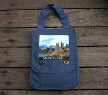 Mono Lake with Eastern Sierra Mountain Range #830 Field/Messenger Bag