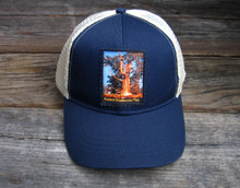 Ancient Bristlecone Pine at Sunrise Organic Cotton Keep on Truckin' Trucker Hat