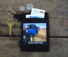 Blue Truck Bodie State Park Hemp Key Coin Purse