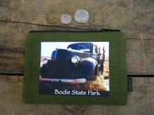 Green Truck #811 Bodie State Park Medium & Large Hemp Coin Purse