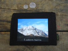 Snow covered Mountain #825 Eastern Sierra Medium & large Hemp Coin Purse