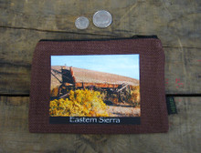 Wagon #814 Eastern Sierra Medium & Large Hemp Coin Purse