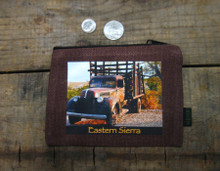Red Truck #813 Eastern Sierra Medium & Large Coin Purse