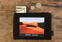 Mesquite Dunes at Sunrise #925 Death Valley National Park Medium & Large Hemp Coin Purse