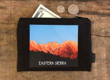 Eastern  Sierra with Mount Whitney #906 Medium & Large Hemp Coin Purse