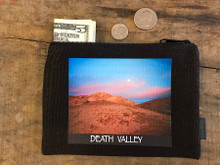 Texas Spring Sunset #926 Death Valley National Park Medium & Large Hemp Coin Purse