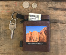 Alabama Hills #910 Hemp Key Coin Purse
