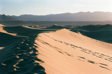 Mesquite Dunes #922 Death Valley National State Park Greeting Card