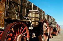 Borax 20 Mule Team Wagons Death Valley National Park