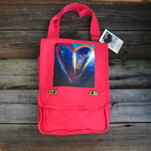 Crazy Love Heart Field Bag