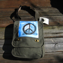 Peace Sign Field Bag