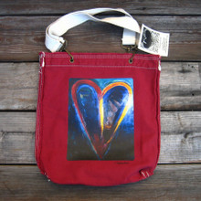 Crazy Love Heart  Girly Tote