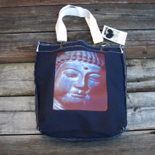 Buddha's Face girly tote/purse