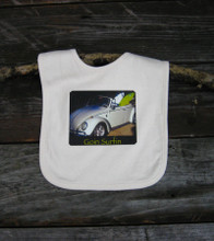 Goin Surfin Certified Organic Cotton Baby Bib