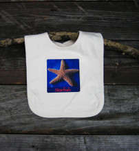 Starfish Certified Organic Cotton Baby Bib