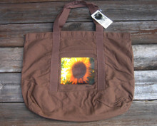 Sunflower beach/market tote