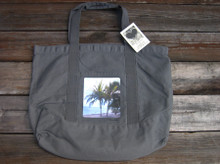 Palm Trees beach/market tote