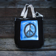 Peace Sign Girly Tote/Purse