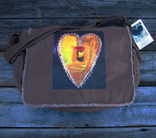 Love Supreme Heart messenger bag