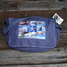 Life's a Beach messenger bag