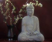 Buddha Blossom beach/market tote