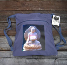 Shakyamuni Buddha Boho Cinch Back Pack