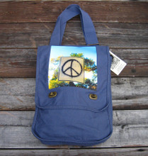 Peace Sign Taos Field Bag