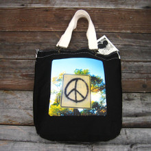 Peace Sign Taos Girly tote