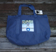 Hamsa with feverfew Beach/Market Tote