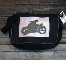 Motorcycle Symbol Messenger Bag