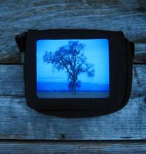Oak Tree Small & Large City slicker Hemp Purse/Bag
