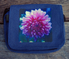 Amanda's Dahlia Small & Large City Slicker Hemp Purse
