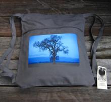 Oak Tree Boho Cinch Back Pack