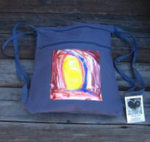 Adobe Sunrise Boho Cinch Backpack