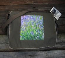 Lavender Messenger Bag