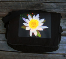 Water Lily Messenger Bag