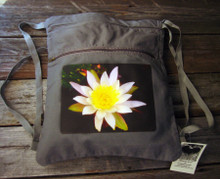 Water Lily Boho Cinch Back Pack