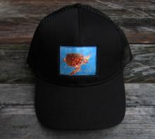 Sea Turtle Keep On Truckin Organic Cotton Trucker Hat