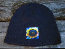 Majestic Sunflower Organic Cotton Beanie