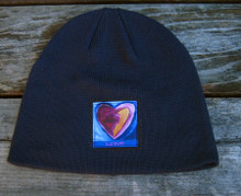 Besitos Dulces (sweet kisses) Heart Organic Cotton Beanie