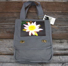 Water Lily Field/Messenger Bag