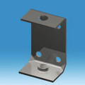 M8 Standard Adjuster Bracket 1.5mm Thick Bright Zinc Plated