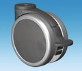 125mm Black Total Lock Castor from Castors Unlimited