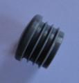 Heavy Duty Round Ribbed 25mm OD x 1.25/1.5 Inserts in Grey