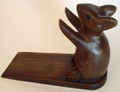 DOOR STOPPER - WOODEN MOUSE DOOR STOP - MOUSE DOORSTOP