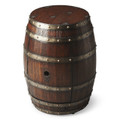 MENDOCINO WINE BARREL TABLE - STORAGE TABLE - FREE SHIPPING*